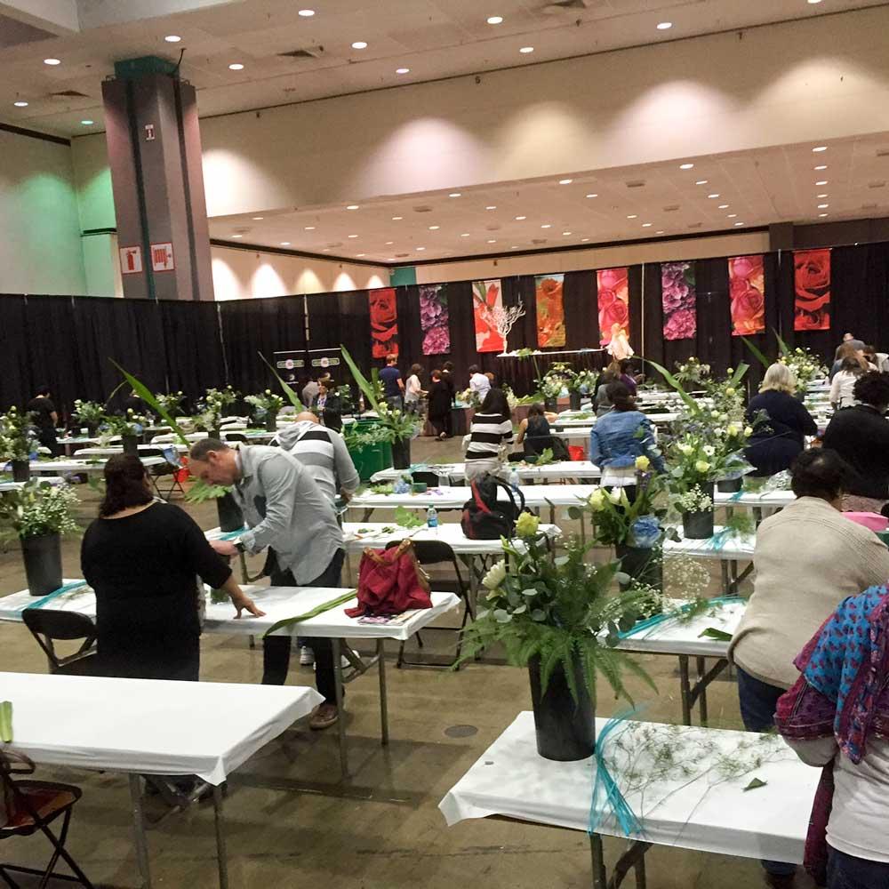 Floral design workshop at the World Floral Expo 2016