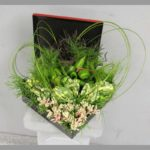ARRANGEMENT ~ Designer : Gwyneth Teh, Wildflowers Australia competition ~ Foliage & Flowers : Flexi Grass™, Dingo Fern™, kangaroo paw