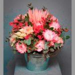 BOUQUET ~ Designer : Runghapa Vinyoovisitiluk, Wildflowers Australia competition ~ Flowers : king protea, protea, gum, kangaroo paw, serruria