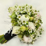 BOUQUET ~ Designer : Stephanie Reed, Wildflowers Australia competition ~ Flowers : waxflower, serruria, berzelia