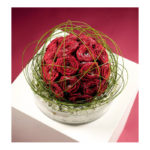 ARRANGEMENT ~ Flexi Grass™, Naomi™ red roses