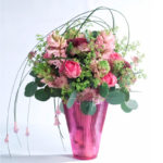 BOUQUET ~ Designer : Flower Council Holland ~ Foliage : Steel Grass, silver gum