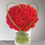 BOUQUET ~ Flexi Grass™ heart adds the finishing touch