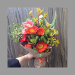 BOUQUET ~ Designer : Northside Flower Market ~ Flowers & Foliage : kangaroo paw, leucadendron, waxflower, Umbrella Fern™
